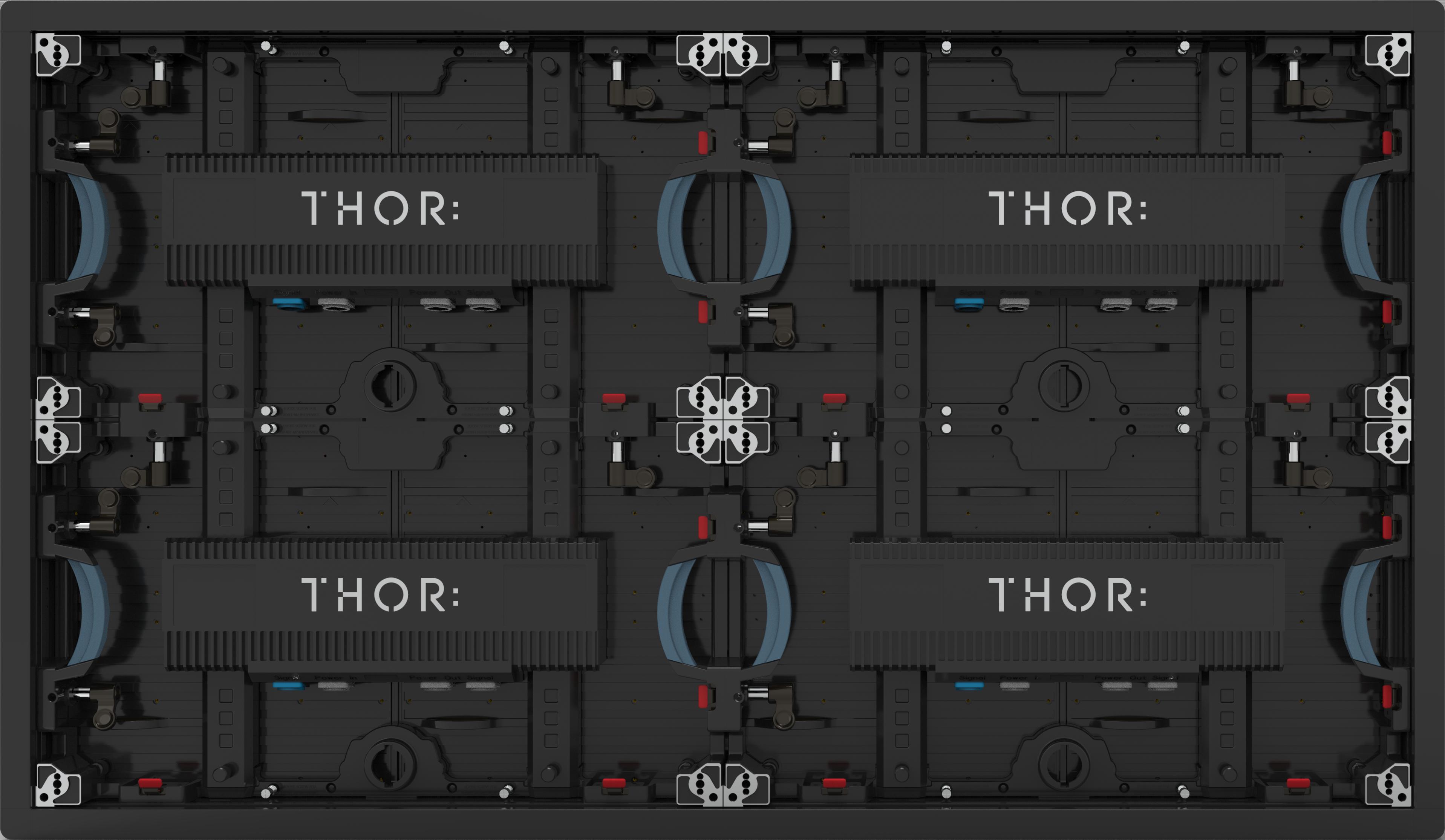 LED Screen Panel - RIDGE Series by THOR AV